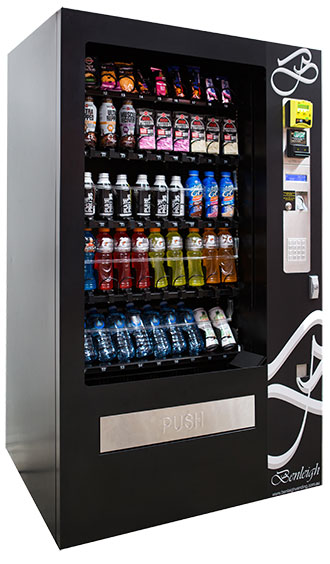 fitness centre gym vending machine